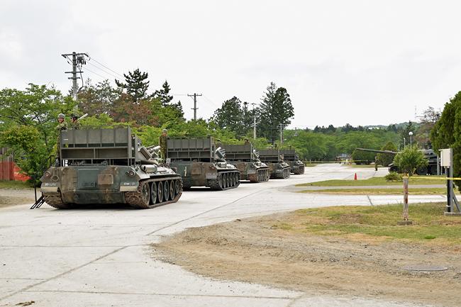 陸上自衛隊 大和駐屯地創立60周...
